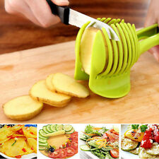 1pc Potato Food Tomato Onion Lemon Vegetable Fruit Slicer Egg Peel Cutter Holder