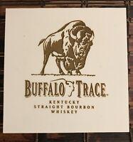 BUFFALO TRACE Collectible Whiskey Coaster