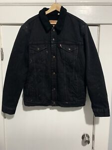 Supreme NYC x Levis x Bleached Sherpa Jacket x LARGE