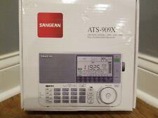 Sangean ATS-909X BK AM/FM/LW/SW World Band Receiver - Black - New