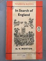 Penguin Book 1431 In Search of England by H.V.Morton 1960 Light Hearted Travel