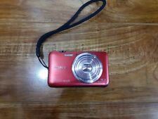 #F) Sony Cybershot DSC-WX9 16.2MP Digital Camera Only-Red (No Charger)