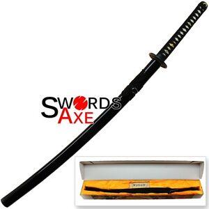 Sugoi Steel Battle Ready Double Dragon Katana Japanese Sword Functional Blade
