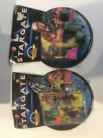 Stargate Action Figures Lot Of 2 Factory Sealed