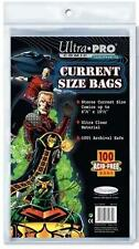 Ultra Pro Comic Series Current Size Comic Bags x 100 Ultra Clear Acid Free MISB
