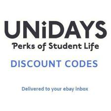 2 UNiDAYS STUDENT DISCOUNT CODES