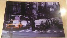 cuadro de metacrilato  Calle en New York vintage 120x80 cm