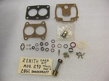 Zenith Carb Rebuild Kit for Zenith model 29D (duplex) 2 Bbl large body cast iron