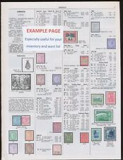BRITISH -- 2018 Scott Catalogue Pages 639-664 -  NEW condition, COLOR- SEE NOTE