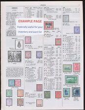 BELGIUM -- 2018 Scott Catalogue Pages 240-337 -  NEW condition, COLOR