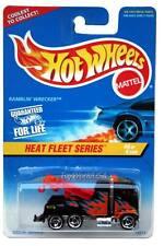 1997 Hot Wheels #540 Heat Fleet #4 Ramblin' Wrecker rzr wheels