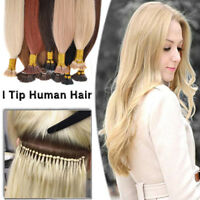 Pre Bonded I Tip Stick 100% Remy Human Hair Extensions Keratin Fusion Glue