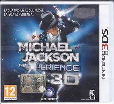 Nintendo 2DS~3DS **MICHAEL JACKSON THE EXPERIENCE 3D** italiano nuovo sigillato