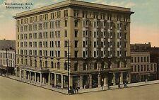 The Exchange Hotel in Montgomery AL Postcard