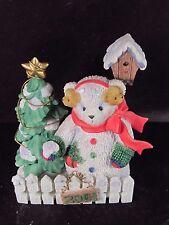 Cherished Teddies #865036 ERIKA 2001 Snowbear Ltd Ed MIB Snowman Bear