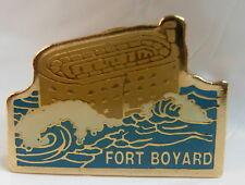 Fort Boyard used Hat Lapel Pin Tie Tac HP1415