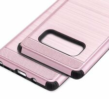 For Samsung Galaxy Note 8 - HYBRID SHOCKPROOF SILK ARMOR CASE COVER ROSE GOLD