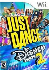 Brand New Sealed Just Dance: Disney Party 2 Kids & Family (Nintendo Wii, 2015)