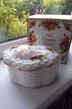 Royal Albert Old Country Roses Trinket Box Large Boxed 1st Quality Bone China