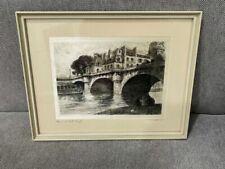 Etching Paris Original Art Prints