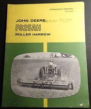 John Deere F925Ah Roller Harrow Operators Manual Om-A14969 (163)