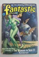 FANTASTIC ADVENTURES - June 1952 Pulp Digest – Vance – Marlowe – Cohn cover