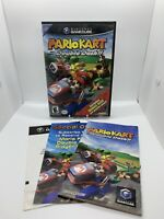 Nintendo Gamecube Mario Kart Double Dash Game Bonus Disc Complete w/ Manual CIB!