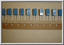 10PCS EPCOS 2.2UF 63Volt 5% MET film capacitors polyester audio grade