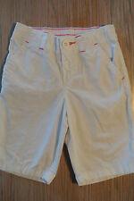 CARTER'S Girls Shorts WHITE w/PINK Stitching Long, Size 5 *EUC*