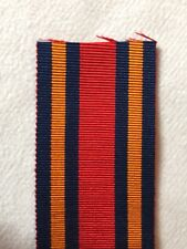 "WW2 ORIGINAL Burma Star Medal Ribbon 6"" Full Size - Excellent Quality."