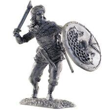 *Valkyrie, IX-X centuries* Tin toy soldiers miniature statue. metal sculpture