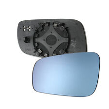 Left Driver Side Heated Wing Mirror Glass LH For VW Passat Jetta Golf 1999-2005