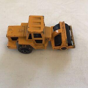 Majorette Engin De Chantier Compacteur N226 Jaune