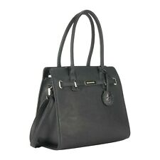 Browning Concealed Carry Purse, CCW Gun Handbag Black Leather Trudy