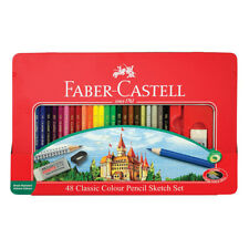 Faber-Castell Classic Color Pencil Tin Of 48