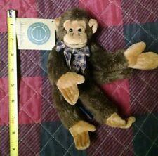 New ListingBoyds Bears Plush Darwin Monkbury Jointed Plus Nwt 1998 Monkey