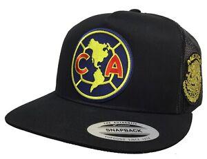 CLUB AGUILAS DEL AMERICA SOCCER MEXICO AL LADO HAT BLACK MESH CHAPO GUZMÁN