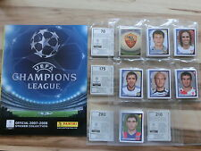 PANINI CHAMPIONS LEAGUE 2007/2008 *KOMPLETTSET COMPLETE SET*EMPTY ALBUM