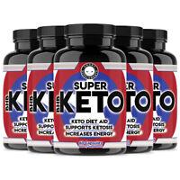 Super Keto BHB, Ketogenic Diet Aid, Ketosis Weight Loss (6-Pack) Pills