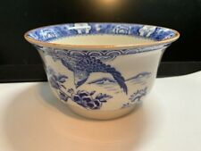 More details for vintage blue and white h.h,and g   -aquila  china  sugarbowl    great condition