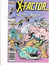 X-FACTOR  #7 1986 MARVEL STAN LEE -FALL OUT/ MUTANTS- JONES/ ROSEN...VF
