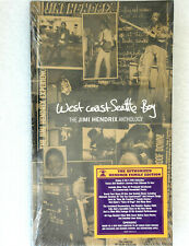 JIMI HENDRIX ANTHOLOGY - WEST COAST SEATTLE BOY - 4 CD + DVD BOX SET SEALED