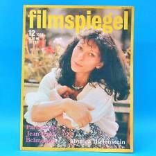 DDR Filmspiegel 12/1980 Jean-Paul Belmondo Paul Hörbiger Alfred Hitchcock N
