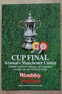 1979 FA CUP FINAL PROGRAMME *(ARSENAL V MANCHESTER UNITED)* (12/05/1979)