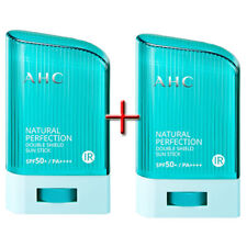 [ 1+1 ] Ahc Natural Perfection Double Shield Sun Stick 22g Spf50+ Pa+ A.H.C