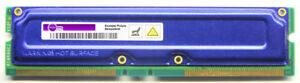 128MB Samsung ECC Rdram PC800 MR18R0828AN1-CK8 1818-7747 402833-862 Rimm