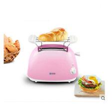 Pink Plastic  Kitchen Double Slide Toaster Sandwich Maker 37*22.5*31.5CM .