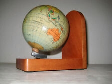 alter Globus als Buchstütze 60er Jahre DDR Erde Weltkugel old Globe World GDR