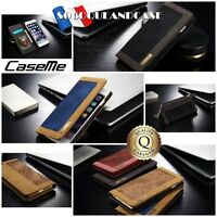 Etui Housse Cuir Pu Premium Qualité Leather Case Cover iphone SE 5 6 6s 7 8 X 10