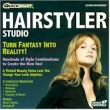Hairstyler Studio PC CD create new look hair color style! also moustache beards